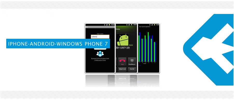 Saliens Android iPhone Windows Phone 7 development